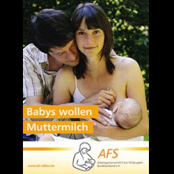 Vorschau Broschüre Muttermilch